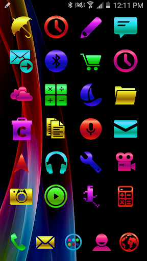ICON PACK COLORS METAL THEME