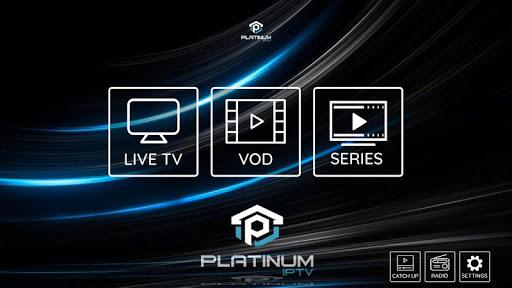 Platinum IPTV 1.1.7 screenshots 1