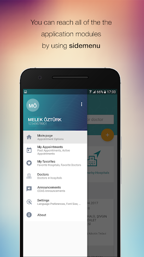 MHRS Mobil app (apk) free download for Android/PC/Windows screenshot