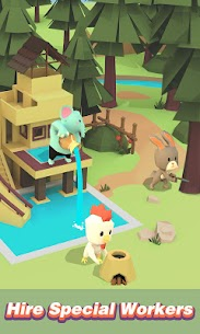 Idle Island: Build and Survive Mod Apk (Unlimited Diamonds) 1.5.1 2