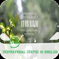 Inspirational status in english icon