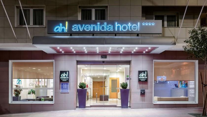 Avenida Hotel en la capital, declarado servicio esencial.