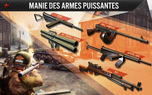 FRONTLINE COMMANDO: WW2  captures d'écran 2