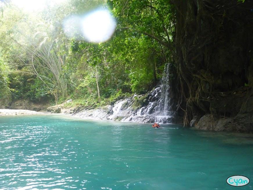 canyoneering Cebu adventure