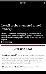 Lowell Sun News- screenshot thumbnail