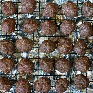 Beef or Buffalo Meatballs with Creamy Dill Sauce