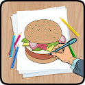 How To Draw Food And Drinks icon