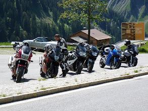 Photo: Kurz vor dem Arlberg noch eine Pause