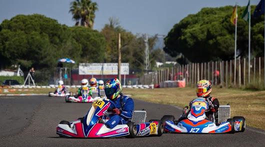 El almeriense Álvaro Hernández conquista el Campeonato de Andalucía de Karting