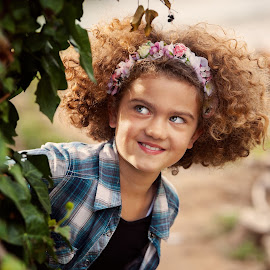 I see you by Andrija Vrcan - Babies & Children Child Portraits ( girl,  )