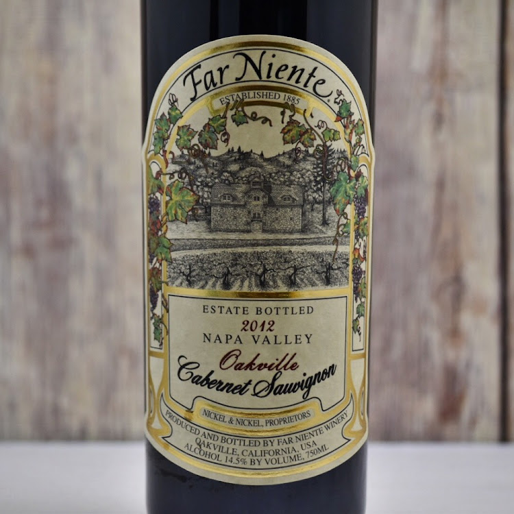 Logo for Far Niente Estate Bottled Cabernet Sauvignon Oakville