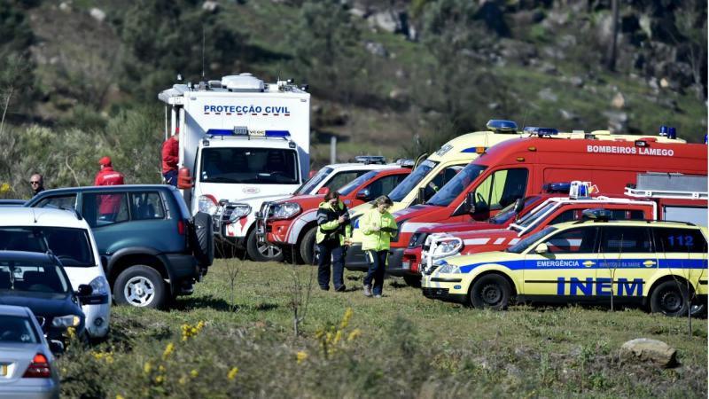 Explosão em Avões: autoridades retiram meios do terreno
