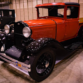 Vintage Ford Truck by Christa Ehrstein - Transportation Automobiles (  )