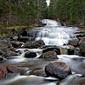 by Rod Fewer - Landscapes Waterscapes ( forest, waterfall, long exposure, water, landscape )