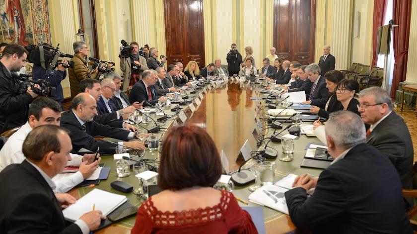 Cita del sector hortofrutícola con el ministro de Agricultura en Madrid