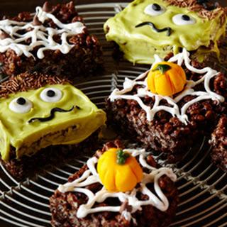 Halloween Marshmallow Crispies