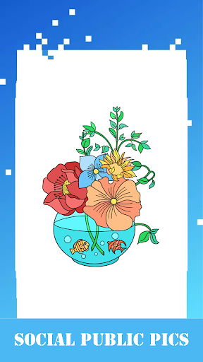 Coloring Pages Free - Coloring Book for Adults Screenshot