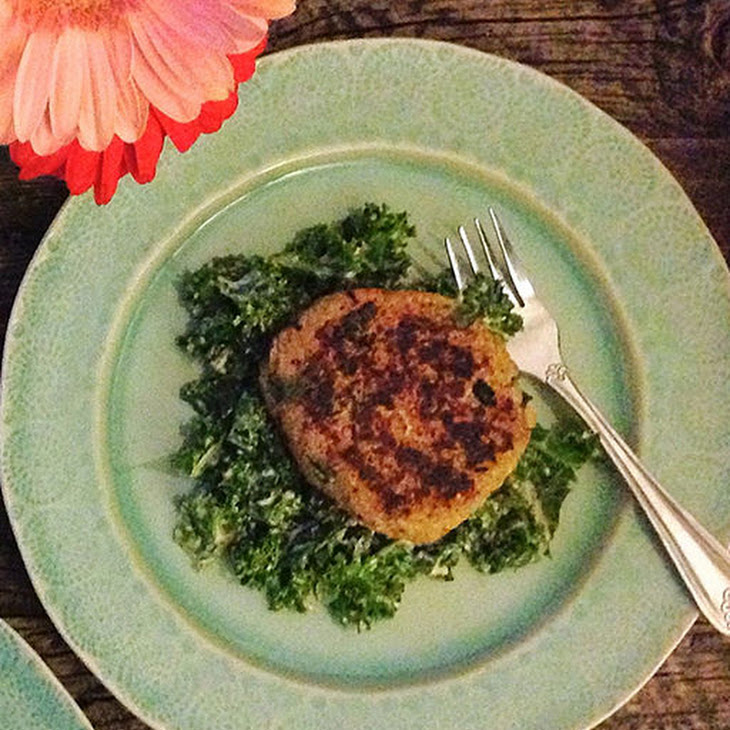Quinoa Cannelini Burgers From Jamie Stelter of 'TV Dinner' & NY1 Recipe