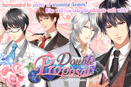 Double Proposal: Free Otome MOD APK [Unlimited Hearts] 3