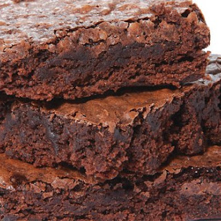 Big Batch Fudgy Brownies.