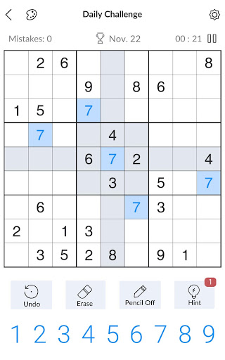 Sudoku - Free Classic Sudoku Puzzles 2.8.0 screenshots 6