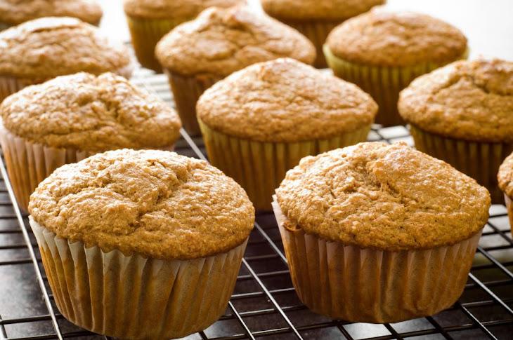 Basic Vegan Banana Muffins Recipe