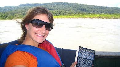 Photo: Boating on the Amazon Delta