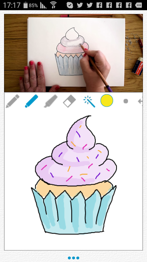 Let's Sketch - Learn To Draw- screenshot