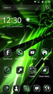 Genesis Green Tech Theme screenshot 1