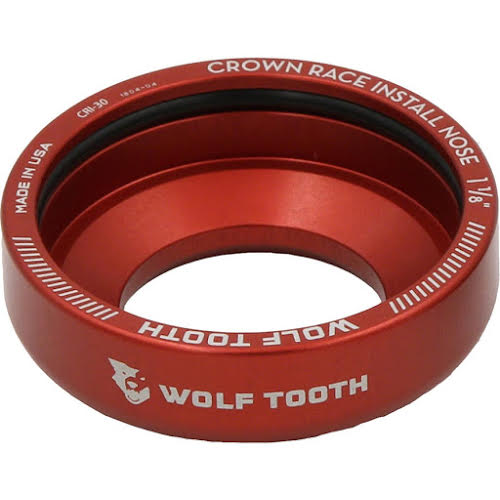 "Wolf Tooth 30mm 1 1/8"" Crown Race Installation Adaptor"