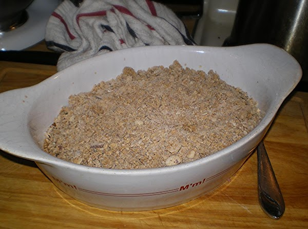Top with cereal mixture. Bake 15-20 minutes or until golden brown.