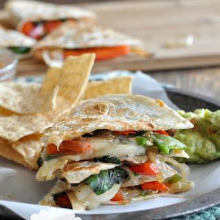 Vegetarian Quesadillas with Jalapenos