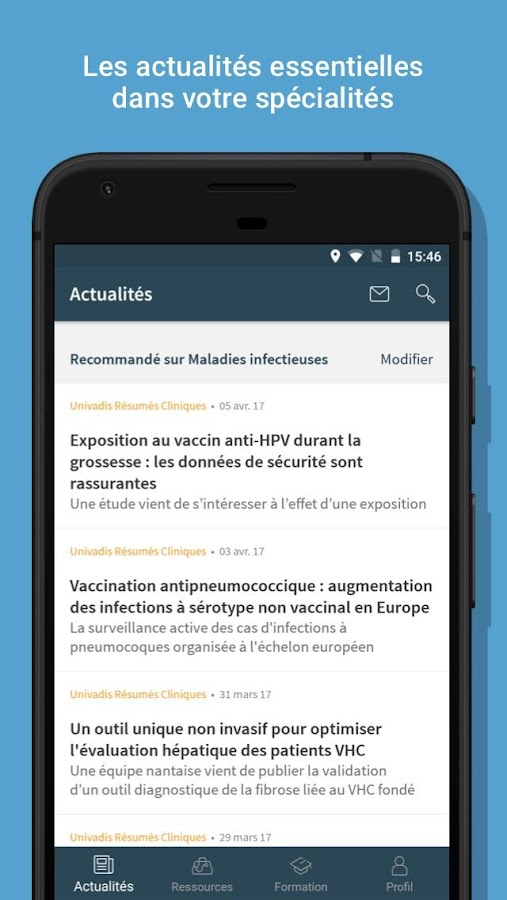 Univadis - Medicaments Interactions- screenshot