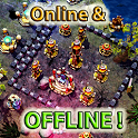 ☣️ Clash Of Orcs ⛺️ City Building Defense War TD icon
