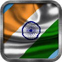 Indian Flag Live Wallpaper icon