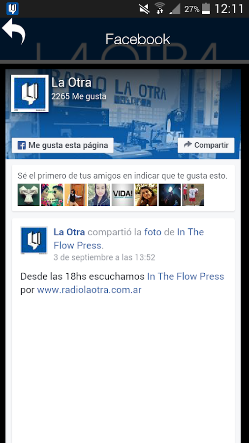 La Otra Radio Online- screenshot