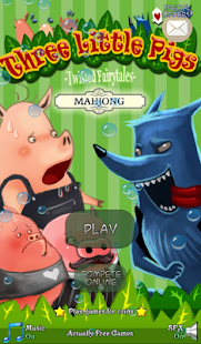 Hidden Mahjong: 3 Little Pigs- screenshot thumbnail