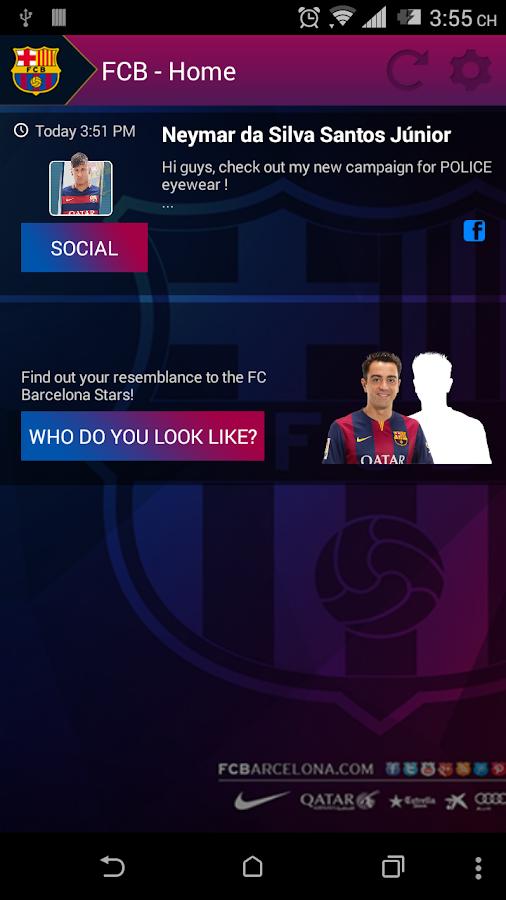 FCB Connect - FC Barcelona- screenshot