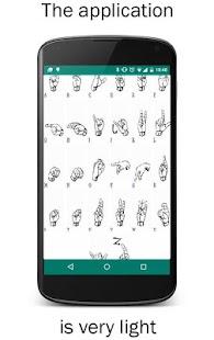 Learn Sign Language Alphabet - náhled