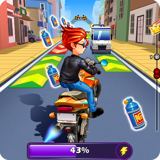Moto Rush - Subway Endless Racing