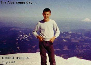 Photo: Summit, Mt Hood, 1962. 12 yrs old. Climbing's in the blood.
