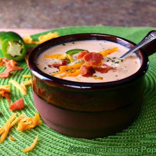Creamy Jalapeno Popper Soup