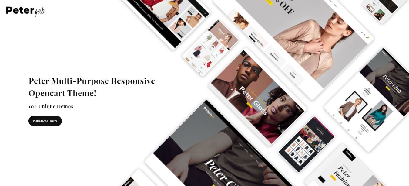 Peter - Opencart ecommerce theme