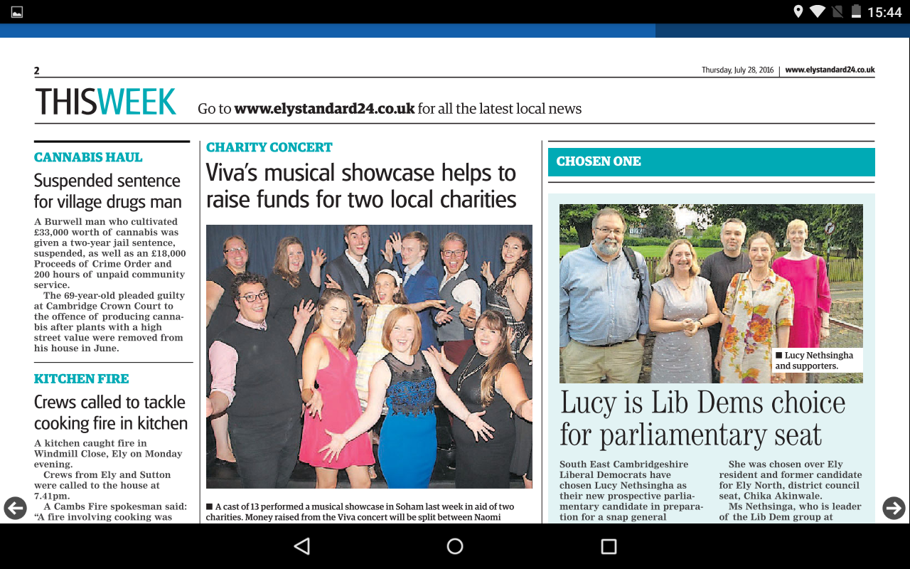Ely Standard- screenshot