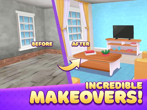 Decor Dream: Home Design Game and Match-3  screenshots 9