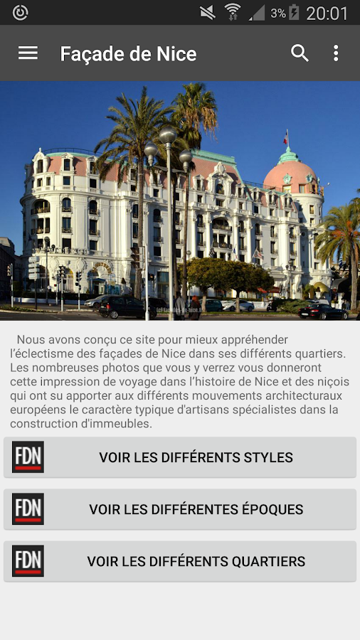 Facades de Nice- screenshot