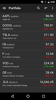 Stocks - Realtime Stock Quotes screenshot 00