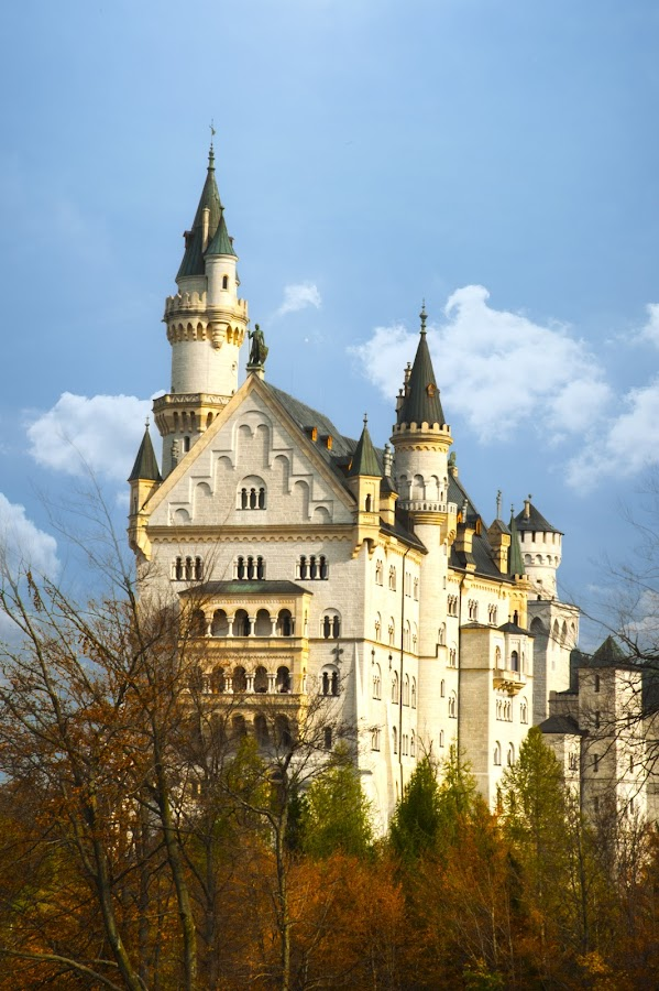 Neuschwanstein  \Castle by Keith Reling - Buildings & Architecture Public & Historical ( castle, grmany, neuschwanstein castle )