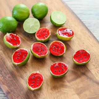 Watermelon Tequila Jello Shots.
