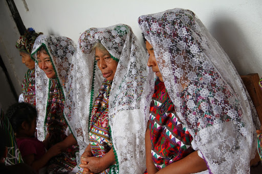 Women of a Cofradía, Nebaj, Quiché